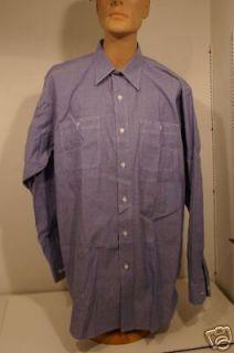 z0104 WW2 US Navy Chambray shirt replica 15 x 33