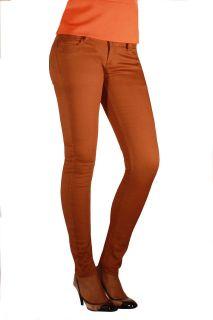 Discount Illuminati Jeans Womens Brown Skinny Fashion