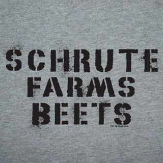 Dwight Schrute Farms Beets The Office Shirt funny 2XL