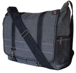MILITARY STYLE CANVAS MESSENGER BAG SHOULDER BAG BACKPACK LAPTOP BAG
