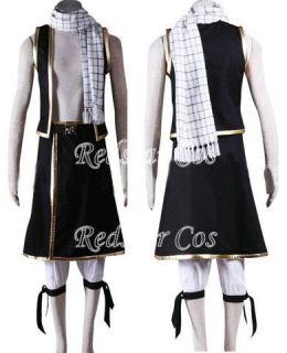 Scarf of Natsu Dragneel from Fairy Tail Anime Cosplay Costume
