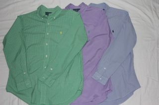 Mens Polo Ralph Lauren long sleeve shirts