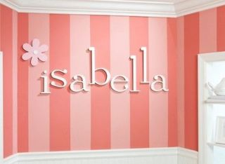 Wall Letters for Baby and Kids Name Nursery and Kids Room Wall Decor