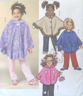 Toddler Poncho Pants Sewing Pattern Elastic Casing Hood Blanket Option