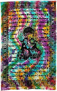 Ganesh Bedspread, Tapestries, Wall Hanging, or Altar Cloth! NEW!