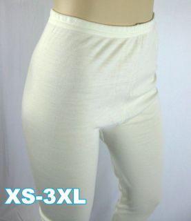 Women Girl Long Johns Pure Merino Wool Thermal Underwear XS 3XL 14