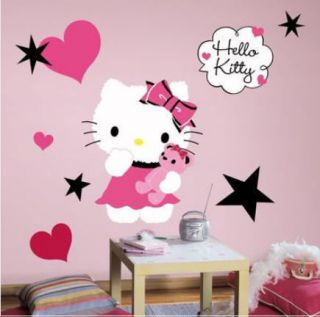 HELLO KITTY COUTURE wall stickers MURAL 13 decals room decor 20 tall