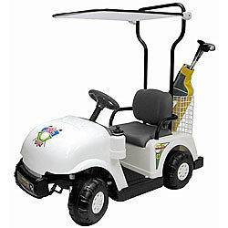 Child Size Ride On Golf Cart Car 6 VOLT BATTERY OPERATED Car New