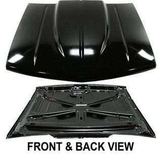 StyleLine New Cowl Hood Primered Full Size Truck Suburban Chevy GMC