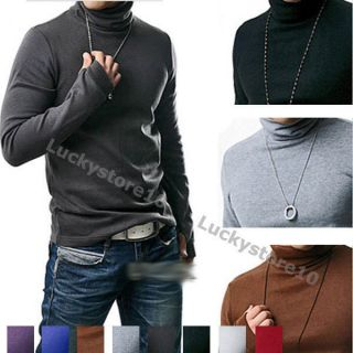 mens turtleneck sweater in Sweaters