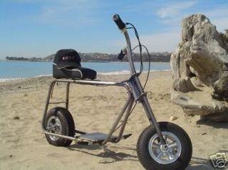 Mini Bike Scooter Minibike Frame & 6 ALLOY 5 SPOKE Kit