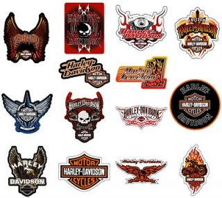DAVIDSON STICKERS * 14 PCS * COLLECTION SET NEW MOTORCYCLE DECALS