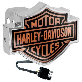 Harley Davidson LED Brake Light Trailer Tow Hitch Cover Plug