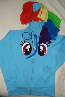Dash My Little Pony Jacket fleece Hoodie XX Large