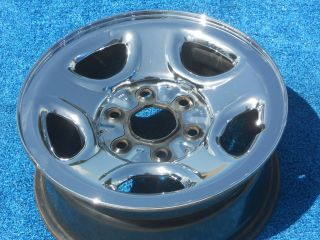 Chevy GMC Truck Van SUV 99   05 16 Chrome Clad Factory Steel Wheel