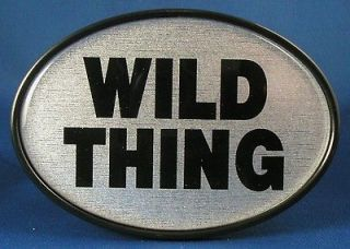 WILD THING TRAILER HITCH COVER Truck RTV ATV Car Tow NEW HD Plastic