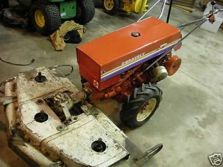 gravely walk behind with 50 mower