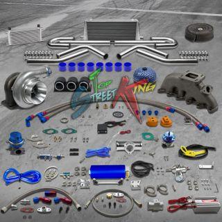 CAST IRON MANIFOLD TURBO KIT 92 05 VW GOLF JETTA PASSAT 2.8L V6 23 PC