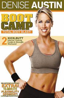 Denise Austin   Boot Camp Total Body Blast DVD, 2006