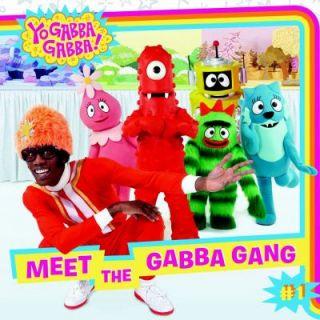 Yo Gabba Gabba 8 X 8 Value Pack Baby Teeth Fall Out, Big Teeth Grow