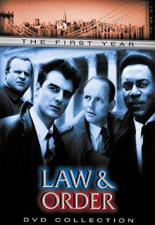 Law Order   The First Year DVD, 2002, 6 Disc Set