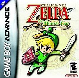 The Legend of Zelda The Minish Cap Nintendo Game Boy Advance, 2005