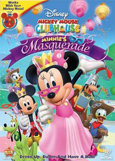 Mickey Mouse Clubhouse Minnies Masquerade DVD, 2011