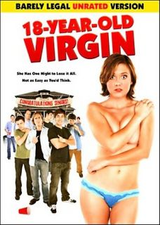 18 Year Old Virgin DVD, 2009, Barely Legal Unrated Version
