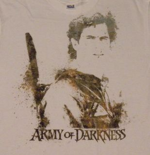 NEW Bruce Campbell Ash Army of Darkness Evil Dead AOD Watercolor Paint