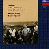 Brahms Piano Quintet, Op. 34 String Quartet, Op. 67 by Gabor Ormai