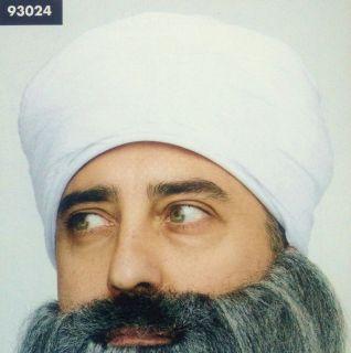 white TURBAN arab persian lawrence aladdin adult mens womens halloween