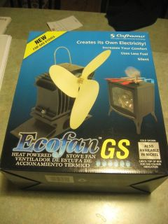 ECOFAN GS GAS STOVE FAN 806GS BBX pellet gold heating circulating air
