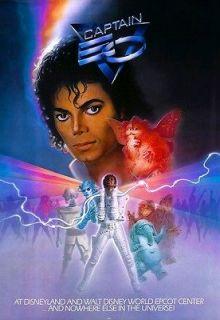 Michael Jackson Captain EO 1986 POSTER Rare