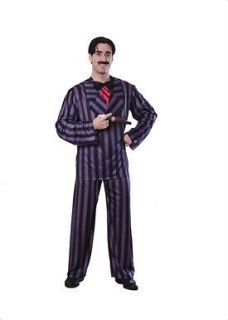 NEW Adult Mens Addams Family GOMEZ Suit Costume Large 36 38 NIP