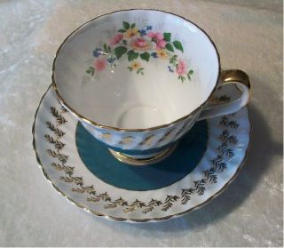 royal adderley floral bone china in Pottery & Glass