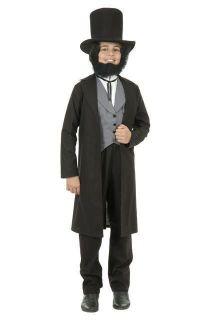 Abraham Lincoln President Civil War Costume Suit CHILD
