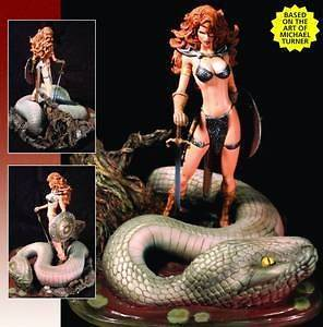 Red Sonja Resized Edition Michael Turner Statue