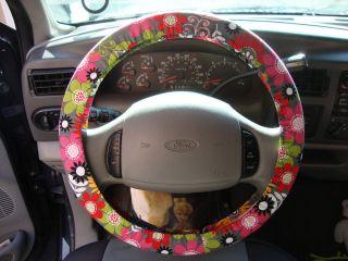 flower steering wheel cover in Steering Wheels & Horns