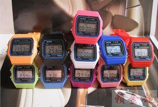 Blue light LED Digital Alarm Clock Sport Children Boy Girl Watch