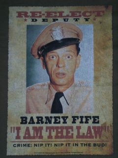 Andy Griffith Show (TV Show) Barney Fife T Shirt (Size: XL, Color