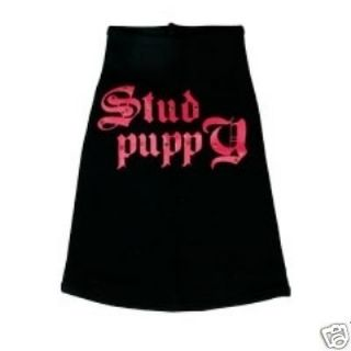Dog Clothes Stud Puppy Tank pet supplies puppy yorkie chihuahua tee