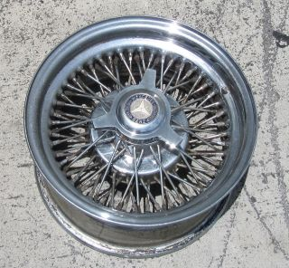 Original Zenith Wire Wheel 14X7 standard 72 Spoke Mercedes Benz