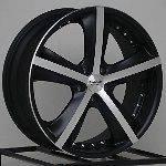 Wheel Rims Black Cadillac CTS STS Lucurne Chevy Impala Equinox 5 lug