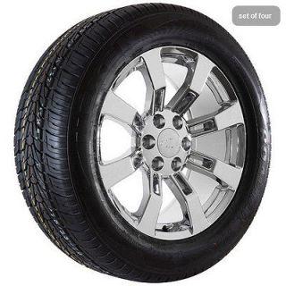 20 chrome Chevy Silverado Suburban 2011 Avalanche truck wheels rims