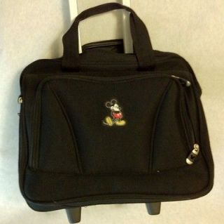 Disney Mickey Mouse Travel Luggage Wheeled Carry On Suitcase