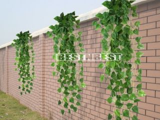 90CM Artificial Fake Faux Scindapsus Leaf Vine Plant Garland Wedding