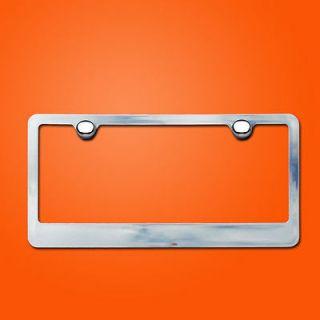 Newly listed CHROME LICENSE PLATE FRAME car tag holder bracket cover