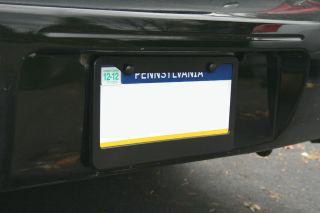 Parts  Decals, Emblems, & Detailing  License Plate Frames