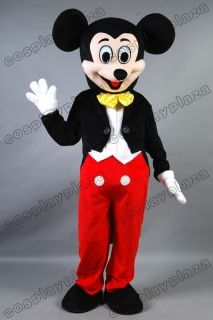 Disney Mickey Mouse Mascot Costume Adult Size