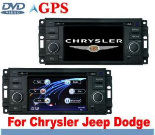 Chrysler 300c Jeep Dodge In Car DVD player GPS Sat Nav Navigation IPOD